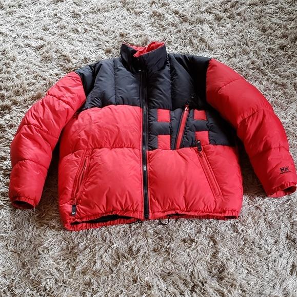 Vtg Helly Hanson Down puffer Jacket mens xxl RARE